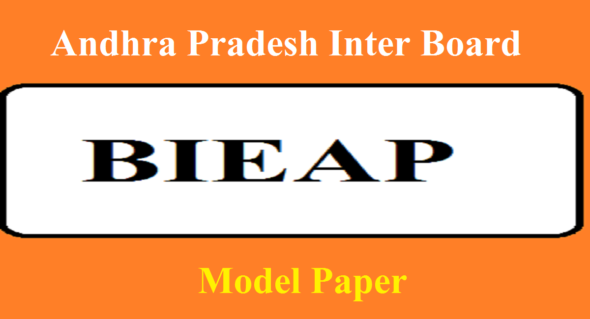 AP 12th Sr Inter Model Paper 2021 BIEAP 2nd Inter Blueprint 2021 MPC,BIPC, CEC, Hindi English Mathematics,